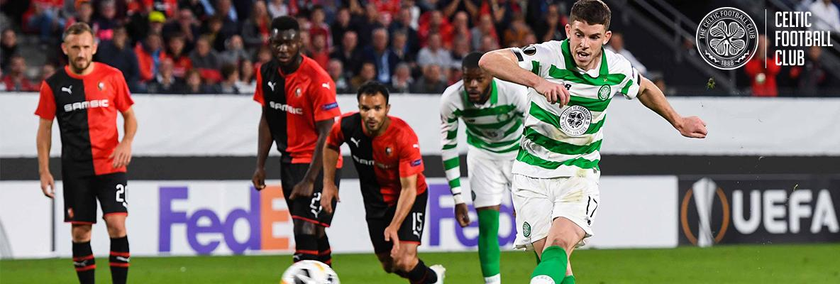 Celts secure well-earned point in Europa League opener with Rennes