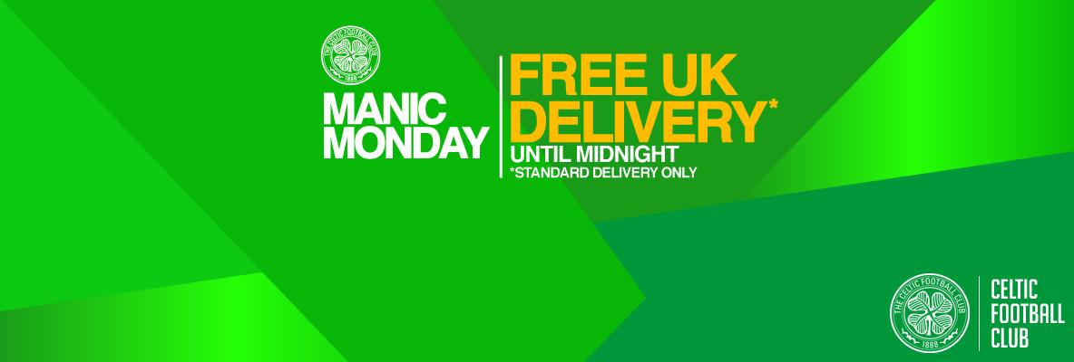Manic Monday: Free UK standard delivery until midnight