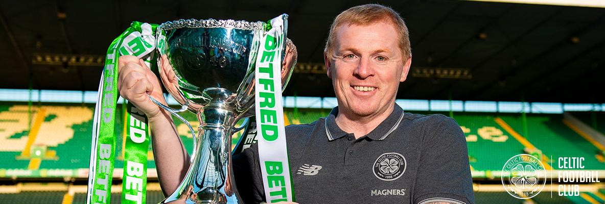 10th successive trophy is a welcome first for Neil Lennon