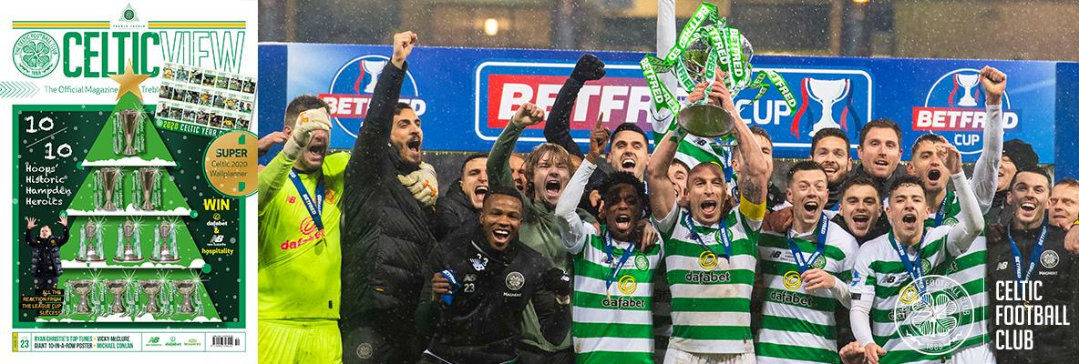 Bumper jam-packed festive Celtic View Christmas Special out now!