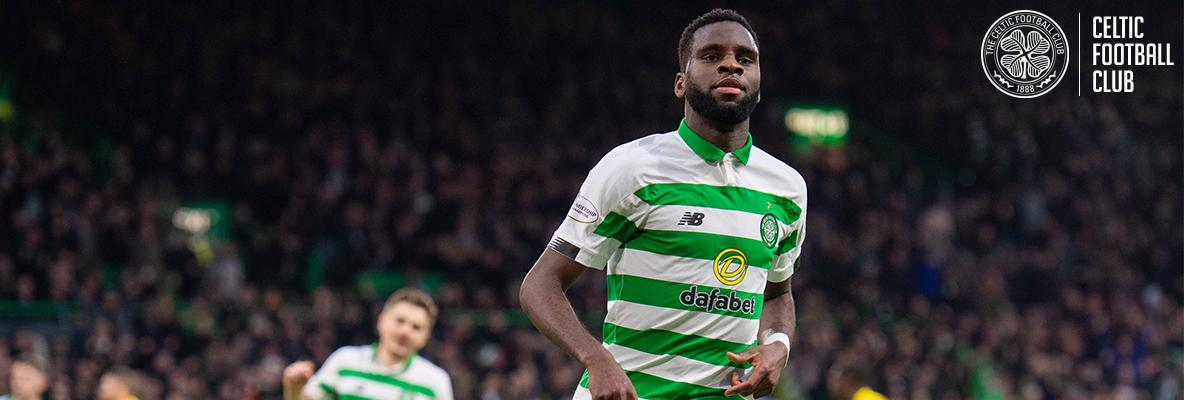 Edouard starts as the Hoops host Hibs at Paradise