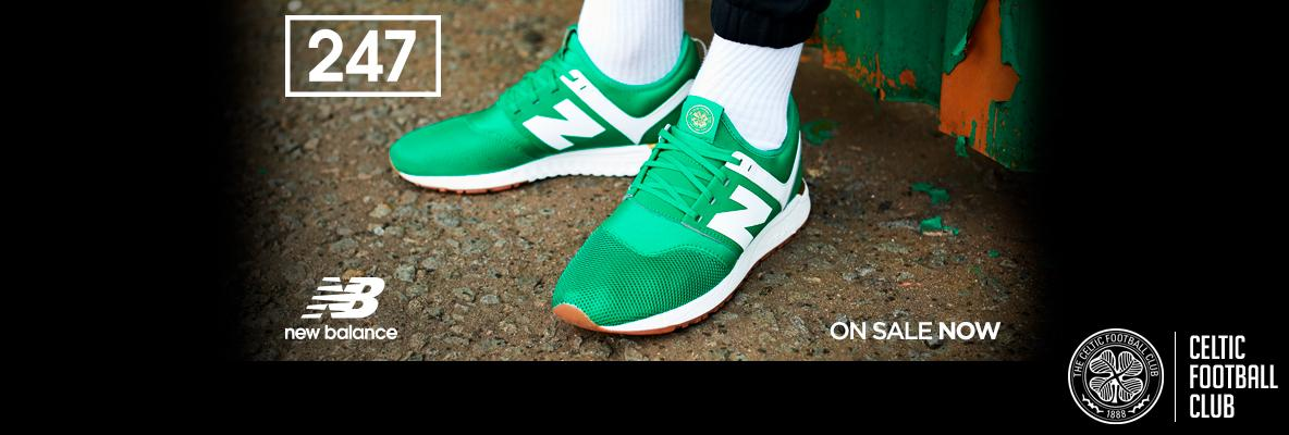 Celtic FC x NB 247 – new limited edition trainers on sale now ...