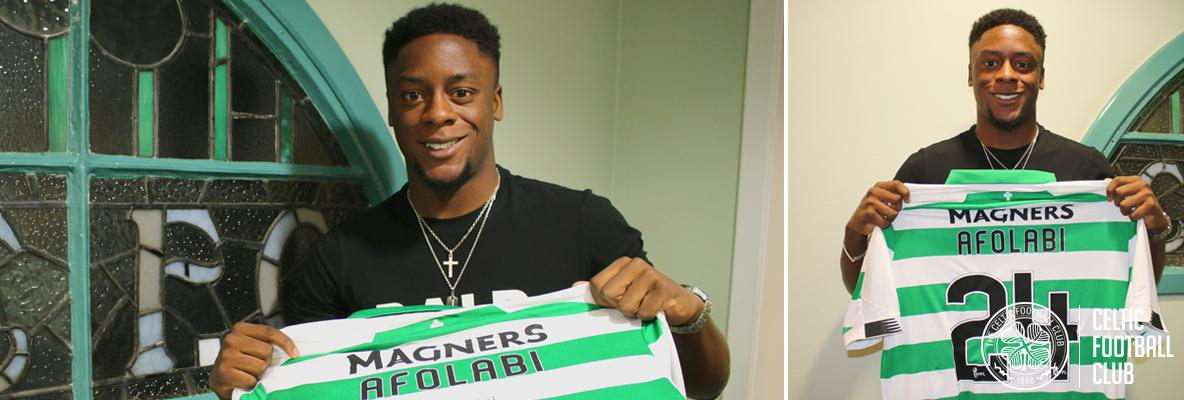 Jonathan Afolabi: I'm thrilled to join the Celtic family