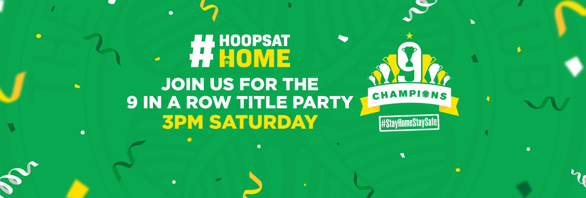 Hey you! We're having a (virtual) party! 9-in-a-row title celebration