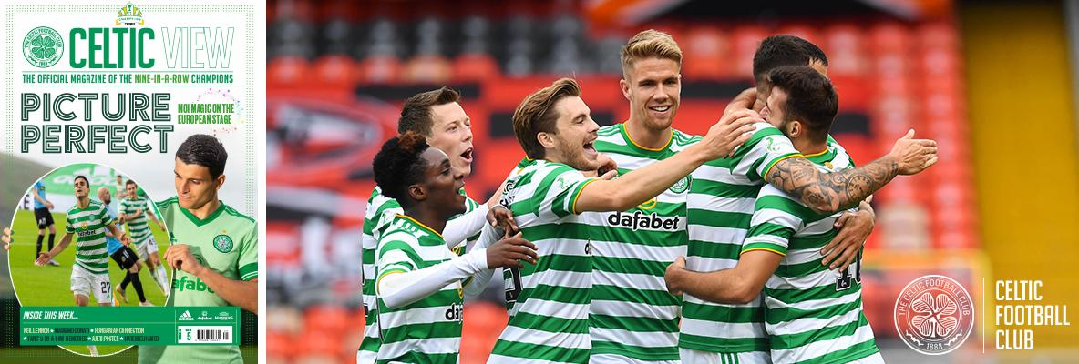 Elyounoussi and Elhamed in this week's Celtic View