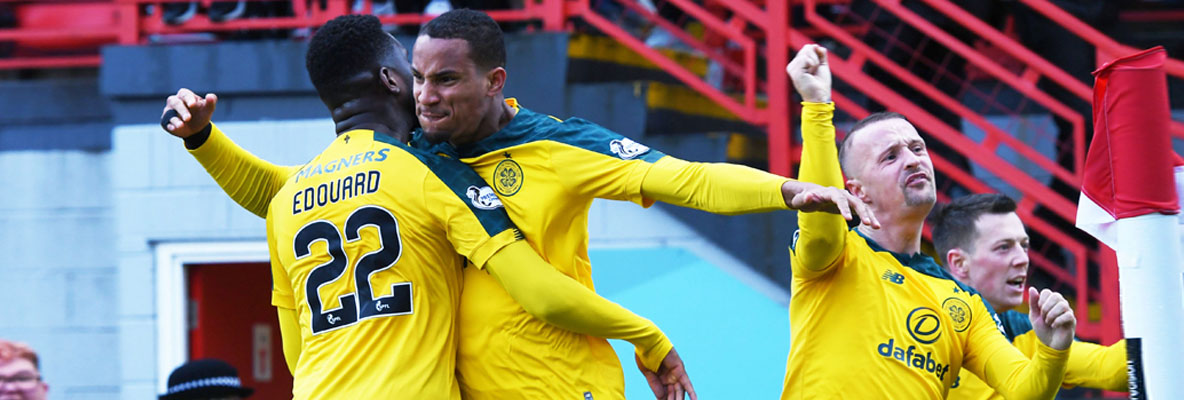 Celtic go seven points clear with resolute Hamilton win