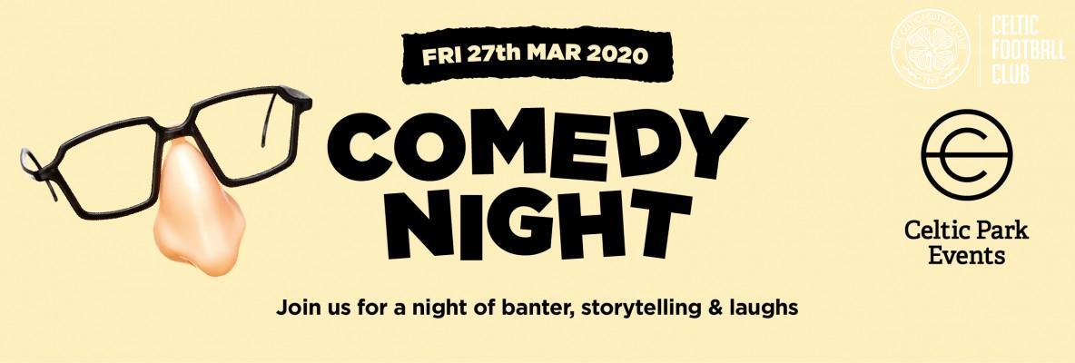Comedy night is returning to Celtic Park: book tickets now