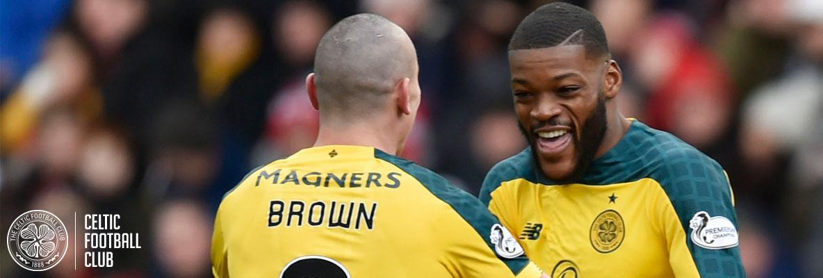 John Kennedy and Scott Brown react to quarter-final draw
